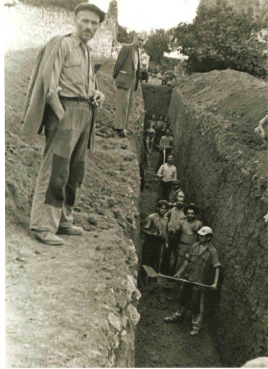 ΦΙΛΙΑΤΕΣ 1954, έργα αποστράγισης της ¨Λούτσας¨ ,.